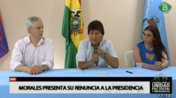 Catorce citas de la declaración del exjefe militar de la crisis de 2019. Kalimán les informó que Evo Morales renunciaría
