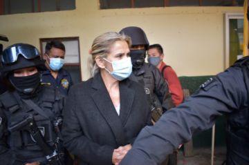 Añez asistirá a una audiencia de cesación a la detención preventiva por el caso 'golpe de Estado'