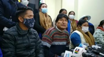 """Evo Morales niega que fue citado a declarar en enero de este año por el caso """"golpe de Estado"""""""