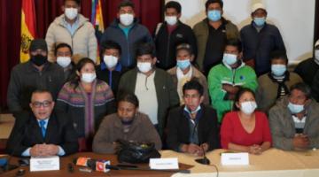 Gobierno dicta cuarto intermedio en diálogo para poner fin al conflicto dirigencial de Adepcoca