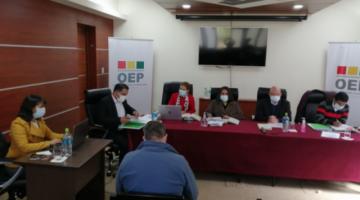 La vocal del TSE Rosario Baptista fue sancionada con 22 días de suspensión