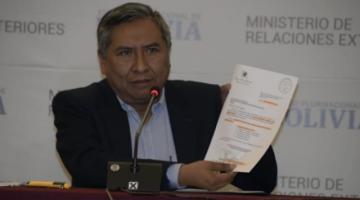 """Canciller acusa a Macri de aportar con """"munición letal"""" para consolidar el gobierno de Añez"""