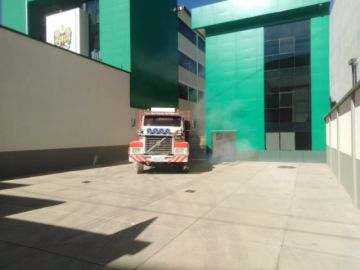 Camiones con mineral supuestamente robado fueron movidos de la Felcc