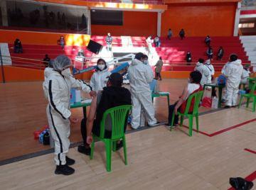 Continúa la campaña masiva de vacunación en Potosí