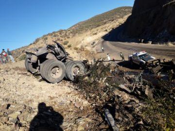 Vuelco de camión deja un muerto en la vía a Villazón