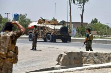 Gobierno afgano moviliza tropas para recuperar un importante puesto fronterizo