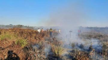 Santa Cruz: reportan que 7.416 hectáreas en San Matías fueron arrasadas por el fuego