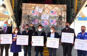 Llegan al país 1.008.000 vacunas de Johnson & Johnson donadas por EEUU