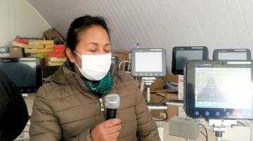 CNS entrega 10 monitores para terapia intensiva covid