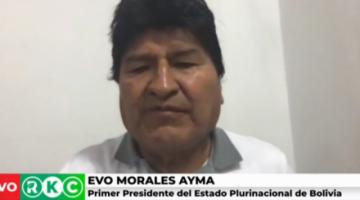 """Evo Morales acusa a expresidentes de Argentina y Ecuador ser parte del """"golpe"""""""