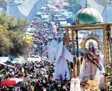 Por segundo año, suspenden la festividad de Urkupiña en Cochabamba