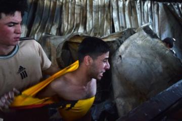 Hay rabia en Irak tras la muerte de más de 60 personas en el incendio de un hospital
