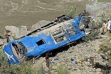 Reportan que hay 12 muertos, nueve de ellos chinos, por la explosión de un autobús en Pakistán
