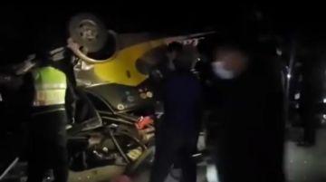 Reportan nuevo accidente de tránsito en Chuquisaca con al menos dos fallecidos