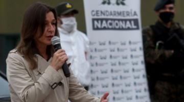 """Ministra argentina asegura que el trámite para envío de """"material bélico"""" se realizó en gestión de Evo Morales"""