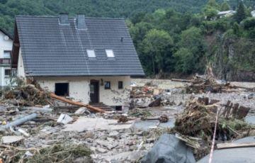 Sube a 42 muertos en Alemania por un temporal que golpea a varios países de Europa
