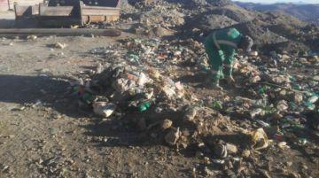EMAP realiza acción de limpieza en el sector de Pailaviri