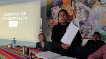 Comunarios de Charopampa demandan consulta previa por explotación minera