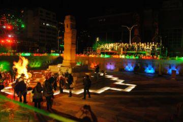 La Alcaldía inaugura el complejo de viaductos de la plaza Tejada Sorzano en La Paz