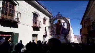 Sacaron en procesión a la Virgen del Carmen