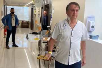 Bolsonaro podría recibir el alta médica este domingo
