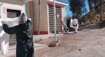 Denuncian desvío de trajes de bioseguridad en el centro Pary Orcko