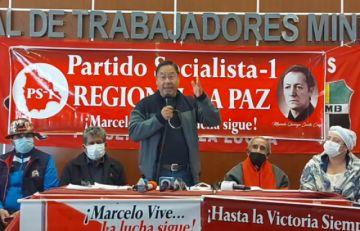 Luis Arce: no descansaremos hasta encontrar los restos de Marcelo