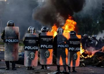 Bolivia investiga participación de Brasil y Chile en conflictos de 2019
