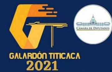 """Cámara de Diputados niega ser patrocinador del """"Galardón Titicaca 2021"""" y desautoriza a su personal"""