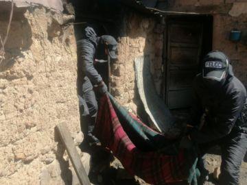 Un anciano murió calcinado en el norte potosino