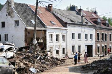 Bélgica rindió tributo a las víctimas de las devastadoras inundaciones