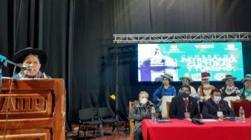 Ministra de Culturas pide dejar de usar cemento en el centro histórico de Potosí