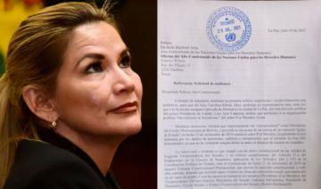 Jeanine Añez pide audiencia con Alta Comisionada de ONU