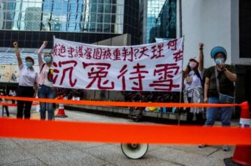Siete hombres son condenados en Hong Kong por agredir a manifestantes prodemocracia