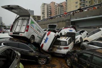 Zhengzhou empieza a evaluar los daños causados por las lluvias torrenciales