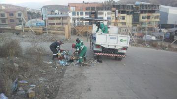 EMAP realiza limpieza del acceso a la zona Lecherías