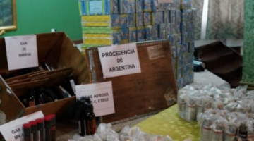 Fuerza Aérea Argentina dice que los 70 mil cartuchos enviados a Bolivia no fueron declarados