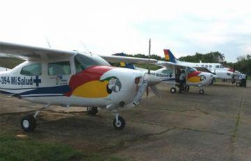 """Oposición dice que ni Salud ni Defensa dan señales para reparar 4 """"ambulancias aéreas"""" entregadas por Evo Morales"""