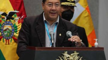 Luis Arce respalda propuesta de López Obrador de sustituir a la OEA por otro organismo autónomo