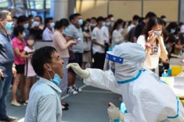 China registra 76 nuevos casos de covid, récord en un día desde enero