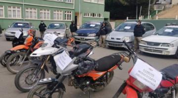 En tres días la Policía incauta 155 vehículos indocumentados a nivel nacional