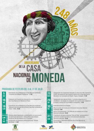 La Casa de Moneda prepara actividades para destejar sus 248 años