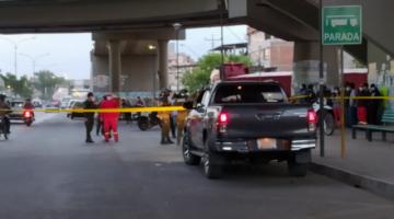 Balacera en Cochabamba, una persona fue atacada con disparos de bala en su camioneta