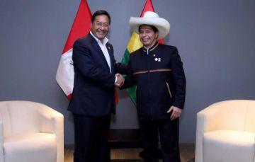 Arce y Castillo acuerdan reanudar el Gabinete Binacional Bolivia – Perú