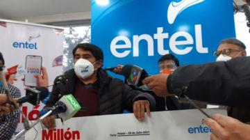 Entel entregó 50.000 Bolivianos en premios en Potosí