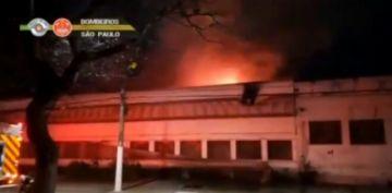 Incendio destruye galpón de la Cinemateca Brasileña con 2.000 copias de filmes