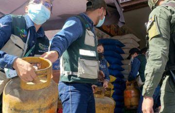 Secuestran más de 200 garrafas de GLP en operativo en Quillacollo