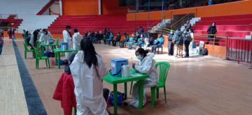 Aplican la segunda dosis Sinopharm a la ciudadanía