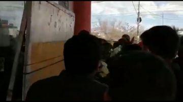 Reportan incidentes y supuesta gasificación en afueras del Palacio de Justicia