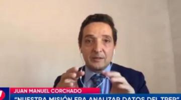 """Corchado asegura que la interrupción del TREP en elecciones de 2019 fue un """"error imperdonable"""""""